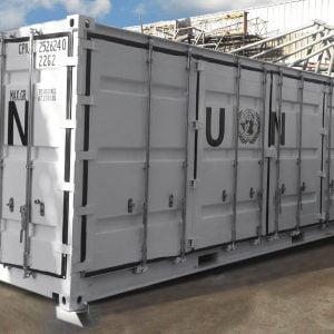 Der Container - geschlossen