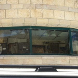 Kugelsichere Fenster im Büro des Premierministers