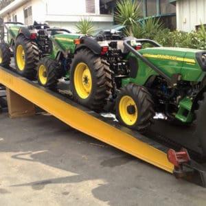 Auch für schwere Ausrüstung geeignet - kann bis zu 10 Tonnen tragen