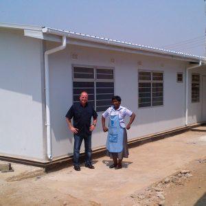Regionales AIDS-Behandlungszentrum in Afrika- 7 Kliniken auf einer Fläche von 280 m2 Für Regionen mit hohem Anteil and AIDS-Kranken